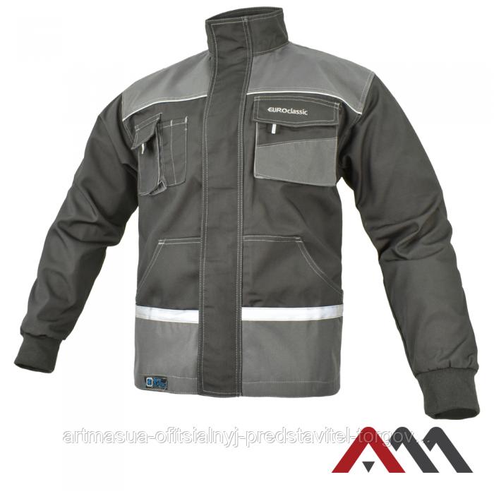 Куртка рабочая EUROCLASSIC Kurtka cерого цвета