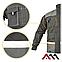 Куртка рабочая EUROCLASSIC Kurtka cерого цвета, фото 2