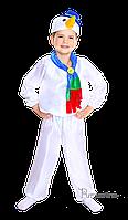 Детский карнавальный костюм Снеговика Код 9138