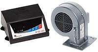 """Комплект автоматики для котла """"KG Elektronik"""" SP-05 LED + вентилятор DP-02"""