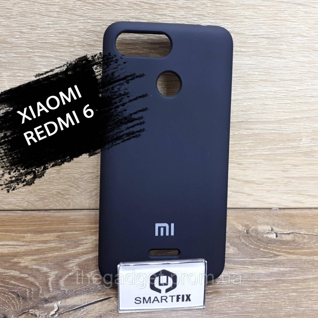 Силиконовый чехол для Xiaomi Redmi 6