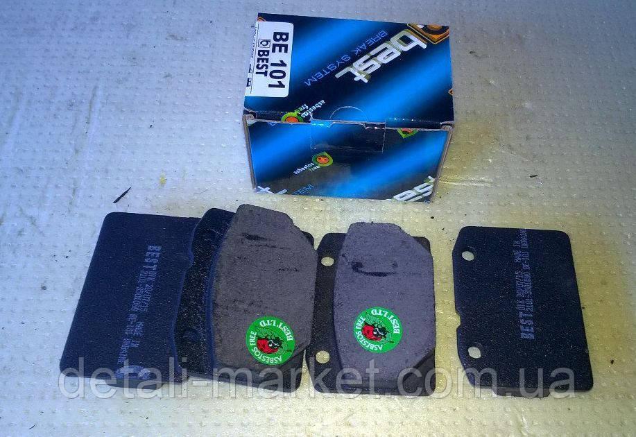 Колодки тормозные передние ВАЗ 2101-2107 Best