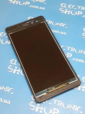 Дисплей в рамке с вибромотором Ergo B502 Basic original б.у., фото 2