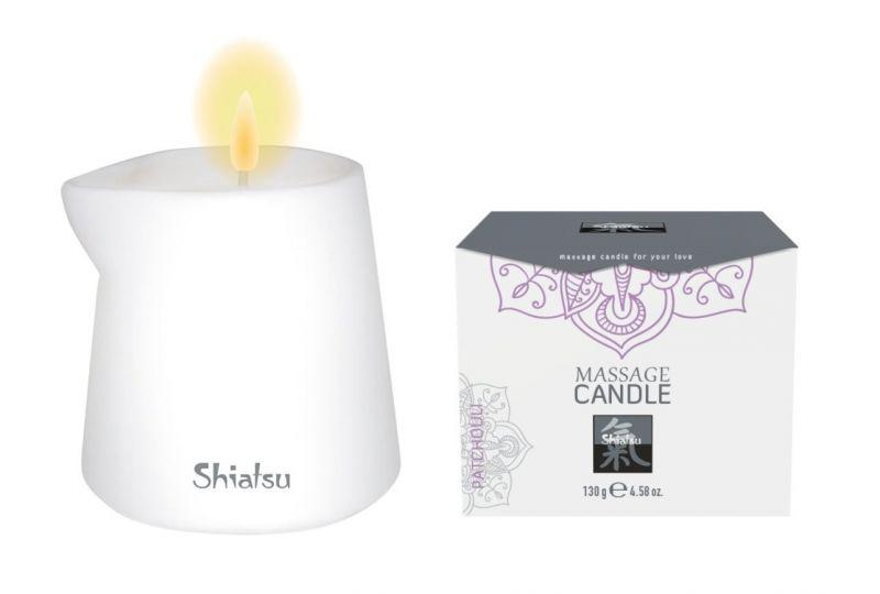 Shiatsu Массажная свеча с ароматом Пачули, 130 гр