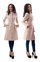 Пальто кльош 5 кольорів, фото 1