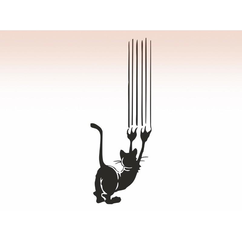 """Наліпка """"Кіт"""" / Виниловая наклейка """"Кот"""""""