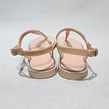 Жіночі босоніжки пляжні, р. 37,41 рожеві літні, фото 7
