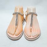 Жіночі босоніжки пляжні, р. 37,41 рожеві літні, фото 4