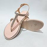 Жіночі босоніжки пляжні, р. 37,41 рожеві літні, фото 2