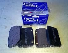 Колодки гальмівні передні ВАЗ 2101-2107 Tomex