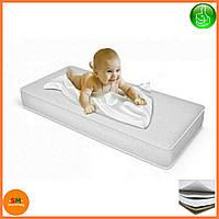 """Матрас детский для кроваток """"Lux baby®Air Eco Memori"""", размер 120*60*12см + наматрасник в подарок"""