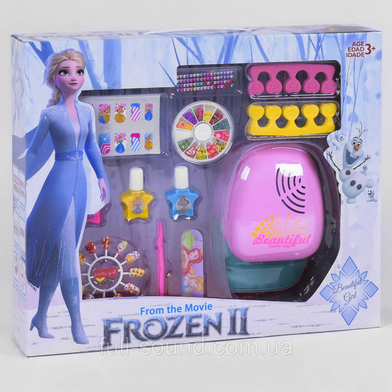 Детский набор маникюра с сушкой frozen E 14