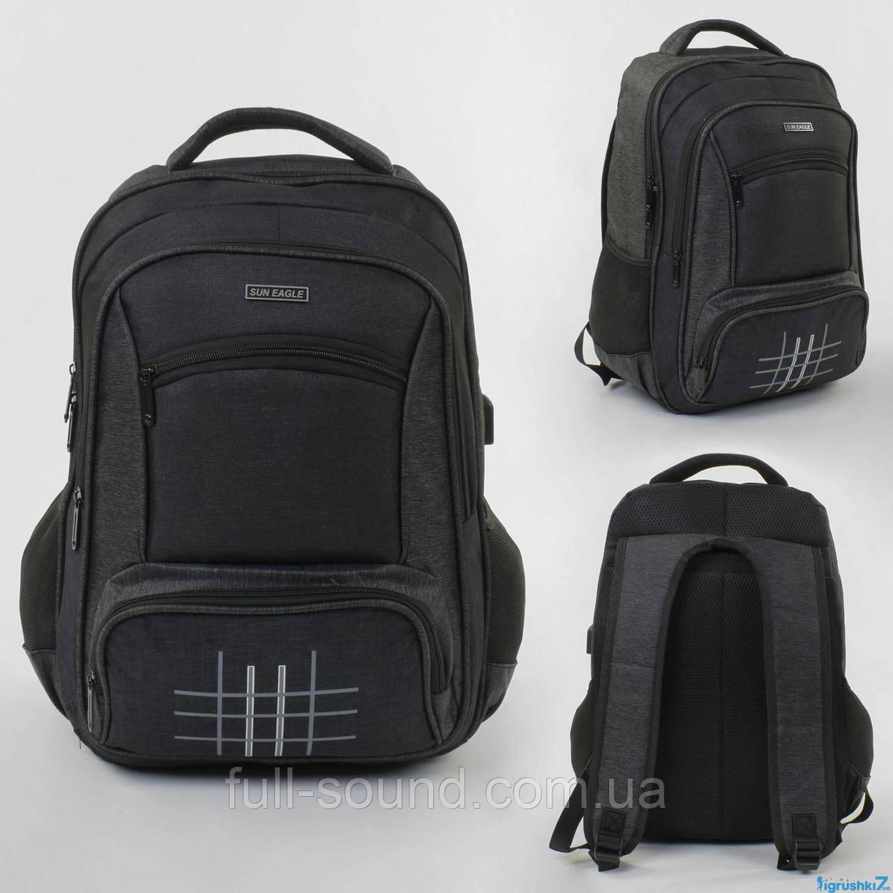 Городской рюкзак с USB портом 4364