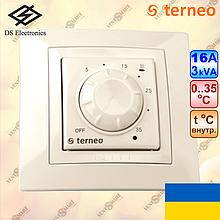 Механический терморегулятор для обогревателя ТЕРНЕО РОЛ слоновая кость