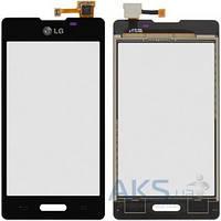 Сенсор для телефона LG E450 Optimus L5, E460 Optimus L5 Original Black