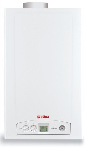 Газовый котел RODA VorTech One CS24 + дымоход
