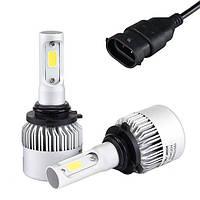 Автомобильные светодиодные Лед LED лампы Headlight  C6 H11 7600lm 6000K