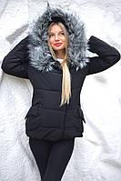 Зимняя куртка  карманы мех  20/7043