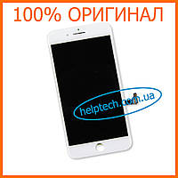 Дисплейный модуль для iPhone 8 Plus Белый Оригинал (LCD экран, тачскрин, стекло в сборе) White Original