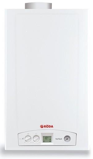 Газовый котел RODA VorTech One CS18 + дымоход