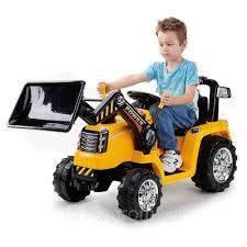 Детский электрический трактор с пультом