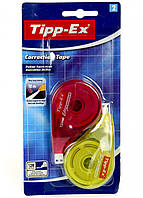 Корректор ленточный (набор) Tipp-Ex 4.2мм*12м красный-желтый