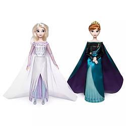 Холодное сердце-2 королевы Анна и Эльза лимитированный набор кукол DISNEY