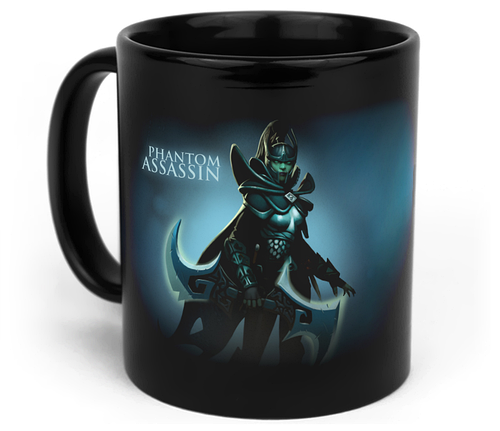 Кружка чашка Phantom Assassin Dota