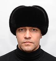 """Зимняя мужская норковая шапка ушанка """"Вова"""""""