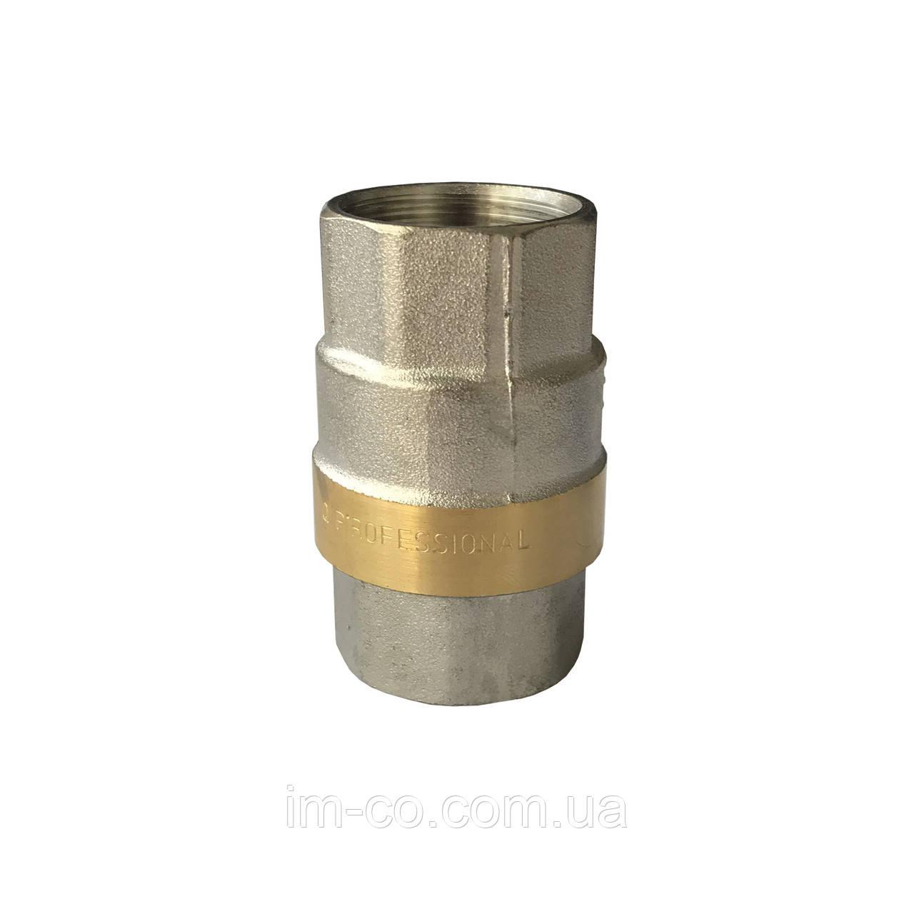 """Клапан зворотнього ходу води PROFESSIONAL     3/4"""" QP100"""