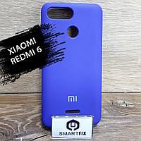 Силіконовий чохол для Xiaomi Redmi 6, фото 1