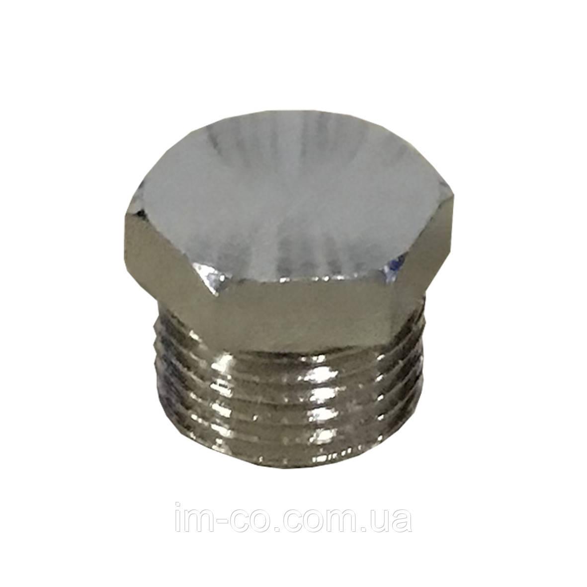 """Заглушка з зовнішньою різьбою SELBA 1"""" SL8001"""