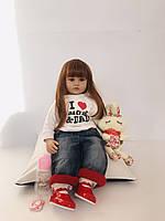 Кукла реборн силикон - винил 60 см