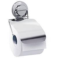 Держатель для туалетной бумаги Tatkraft настенный с крышкой 17139, КОД: 146932