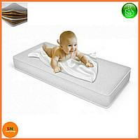 "Матрас детский для кроваток ""Lux baby®Premium Eco Latex"", размер 120*60*8см + наматрасник в подарок"