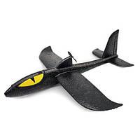 Самолет-планер Акула Dark Elves с моторчиком Черный 1232