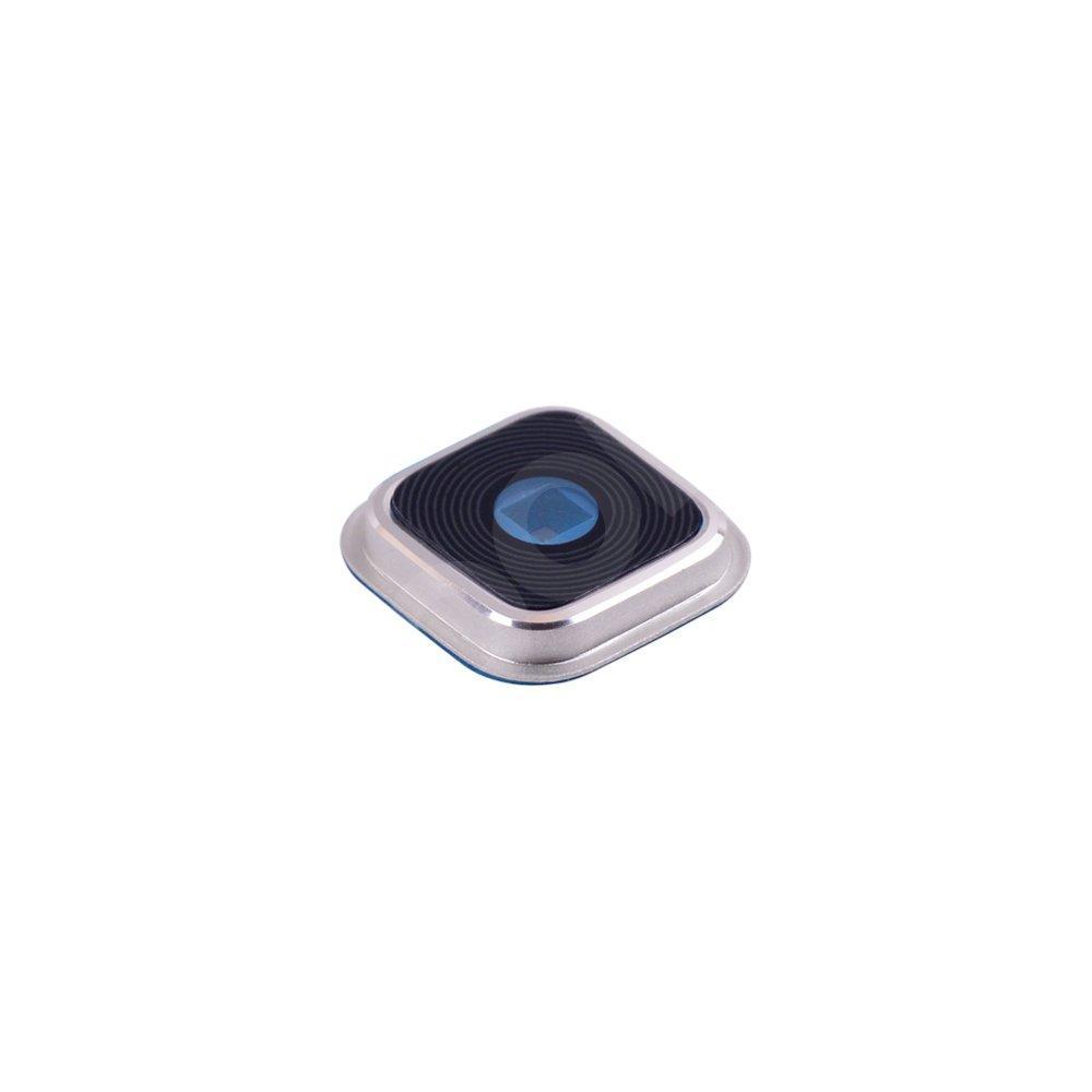 Стекло камеры для Samsung G900H, G900F, G900, i9600 Galaxy S5 (2014) в рамке, цвет белый