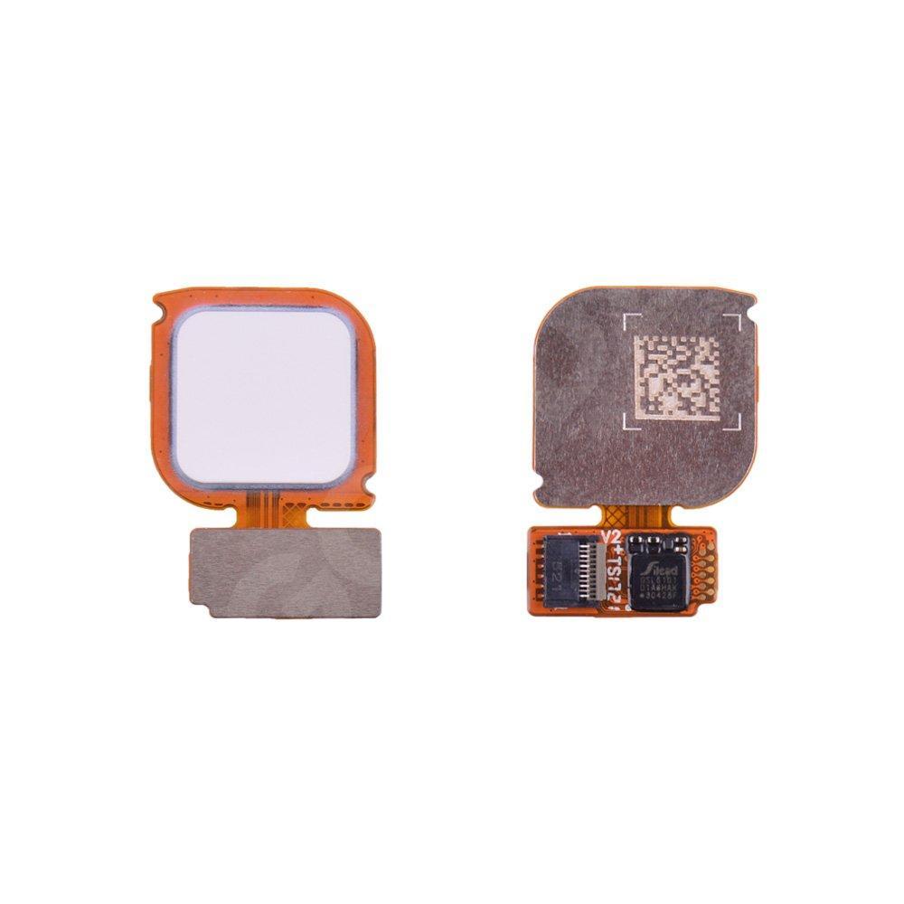Сенсор отпечатка Huawei P10 Lite (WAS-L21/WAS-LX1/WAS-LX1A) со шлейфом, цвет белый