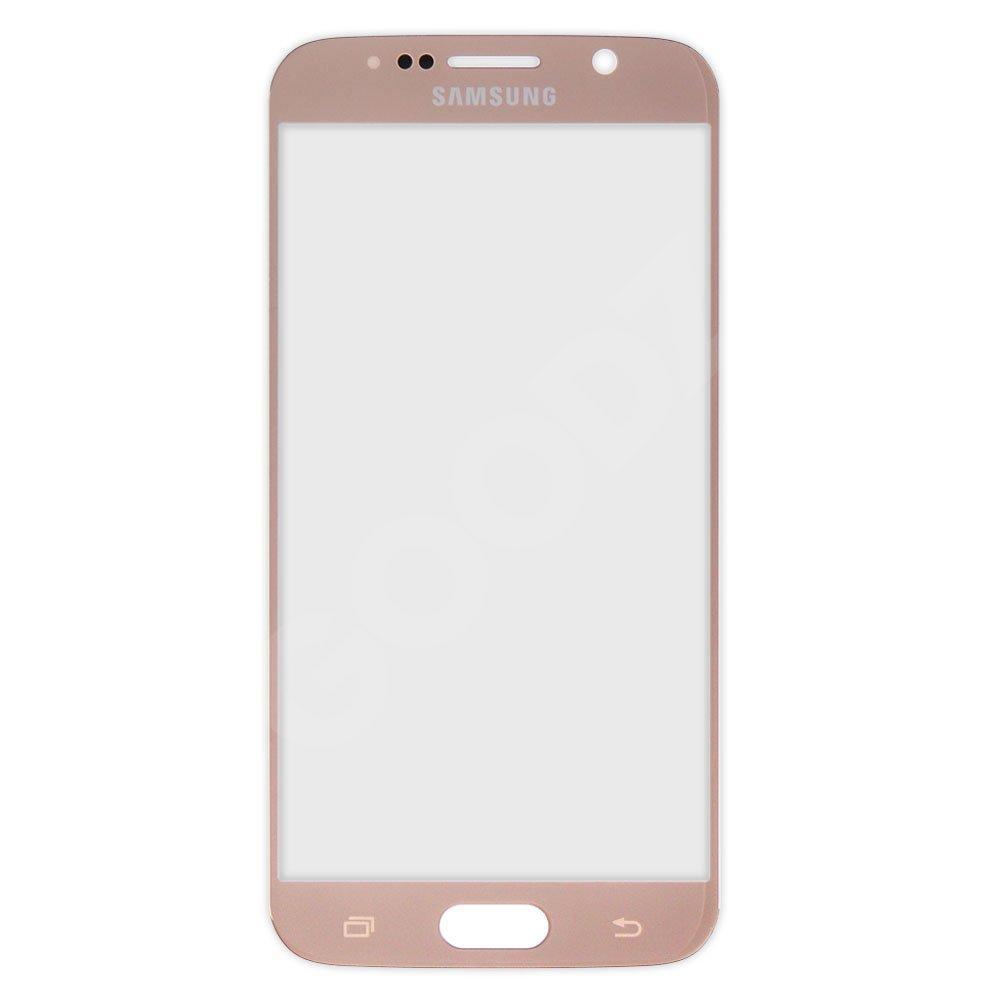 Стекло корпуса для Samsung Galaxy S6 Edge G925F, оригинал, цвет золотой
