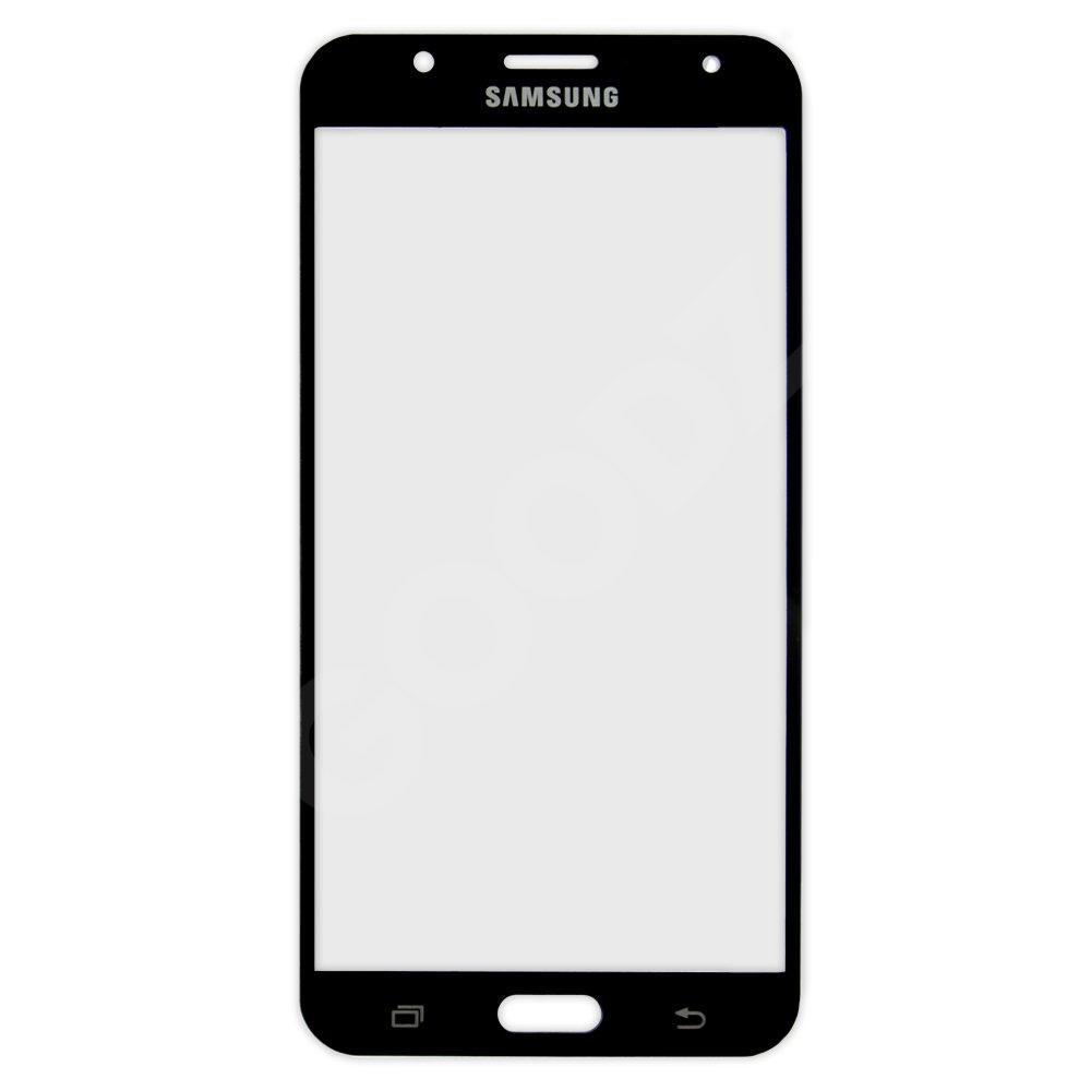 Стекло корпуса для Samsung J700 Galaxy J7, цвет черный