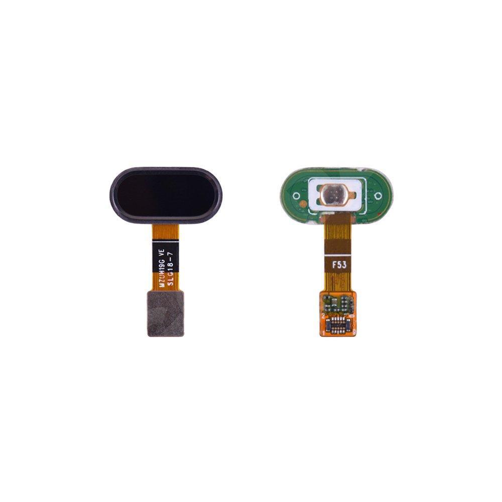 Шлейф для Meizu M5 (M611) с внешней кнопкой Home, цвет черный