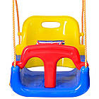 Подвесные детские качели 4 в 1 с защитой и столиком для детей, фото 3