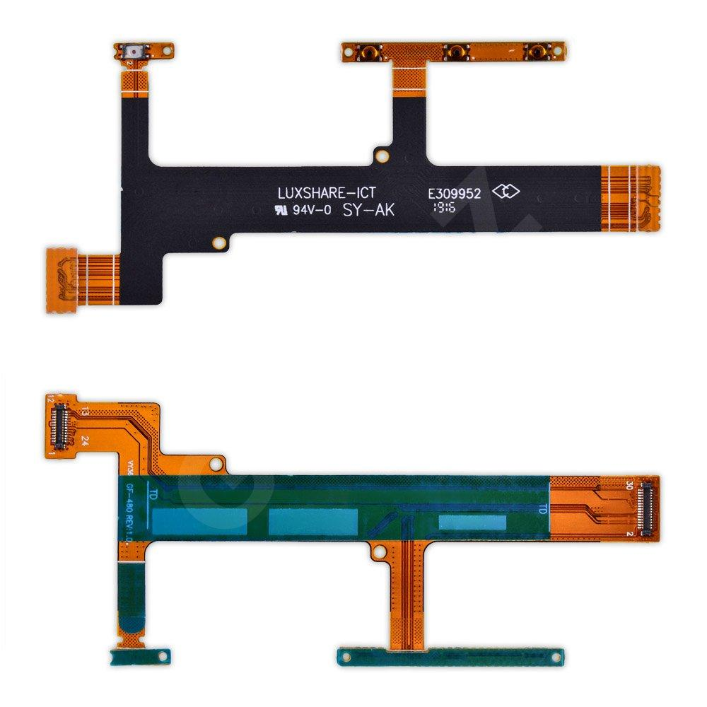 Шлейф Sony F3112 с кнопками включения и регулировки громкости