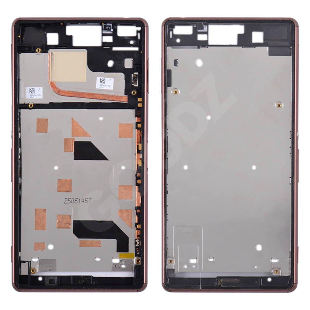 Рамка дисплея для Sony D6603 Xperia Z3, D6643 Xperia Z3, цвет bronze