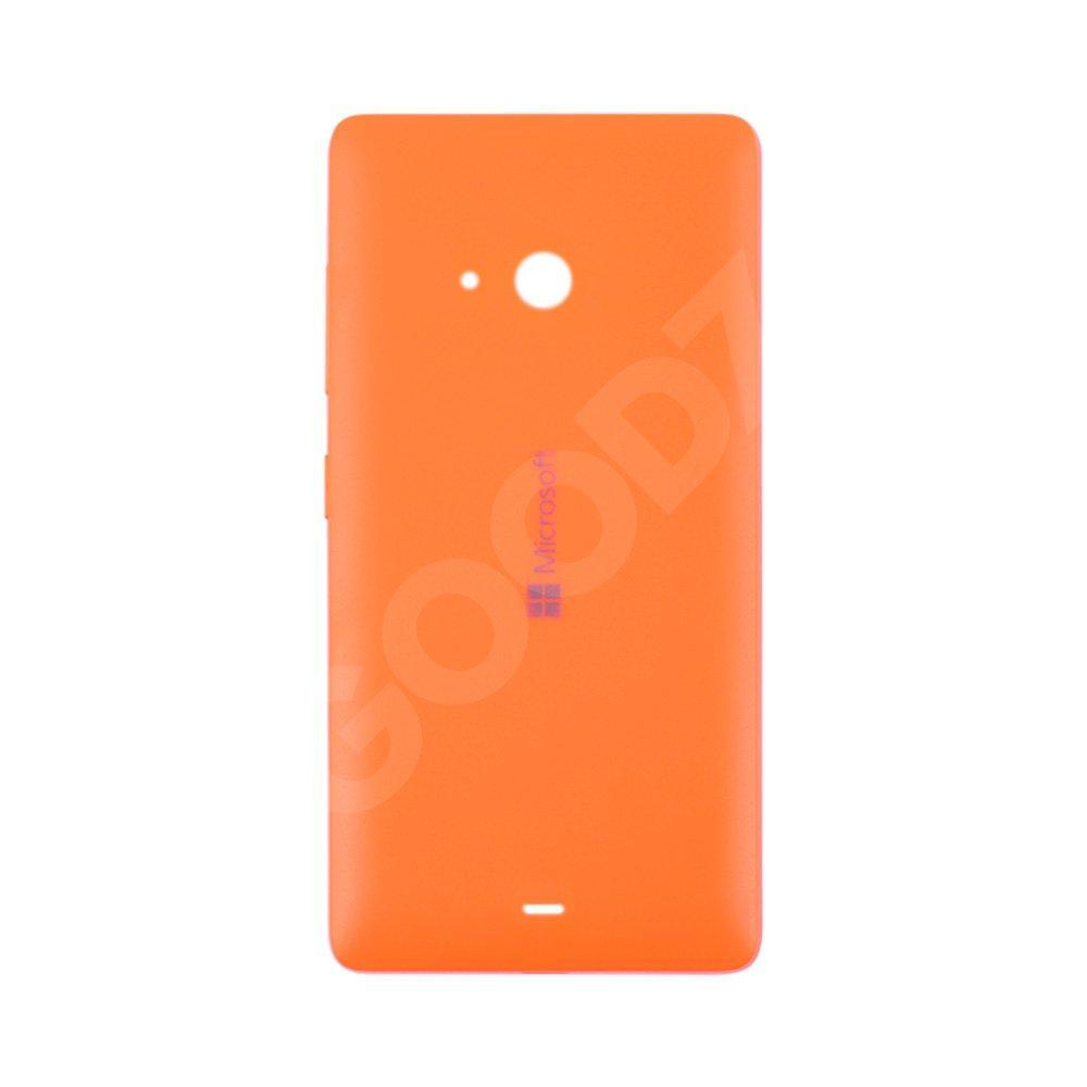 Задняя крышка для Microsoft 540 Lumia Dual Sim (RM-1140/RM-1141), оригинал, цвет оранжевый