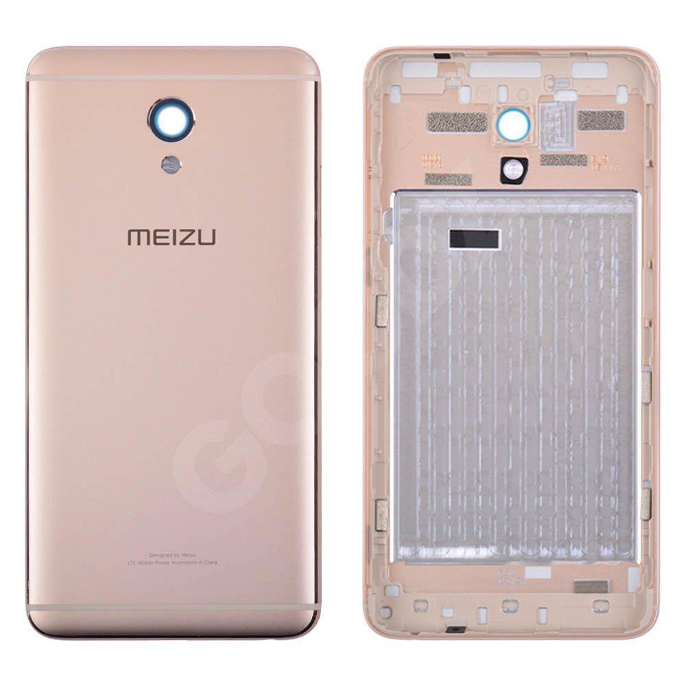 Задняя крышка для Meizu M5 Note, цвет золотой