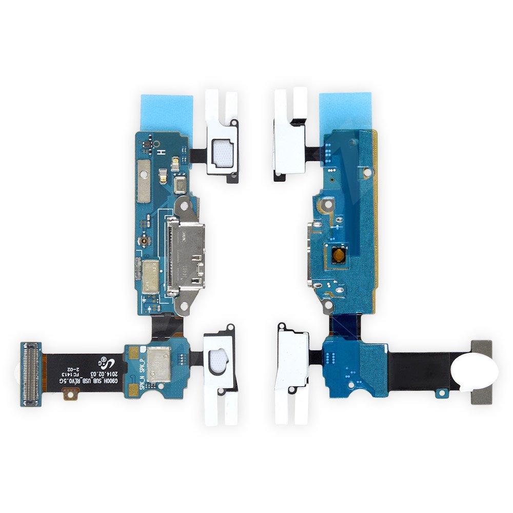Разъем зарядки с нижней платой для Samsung Galaxy S5 G900, G900F