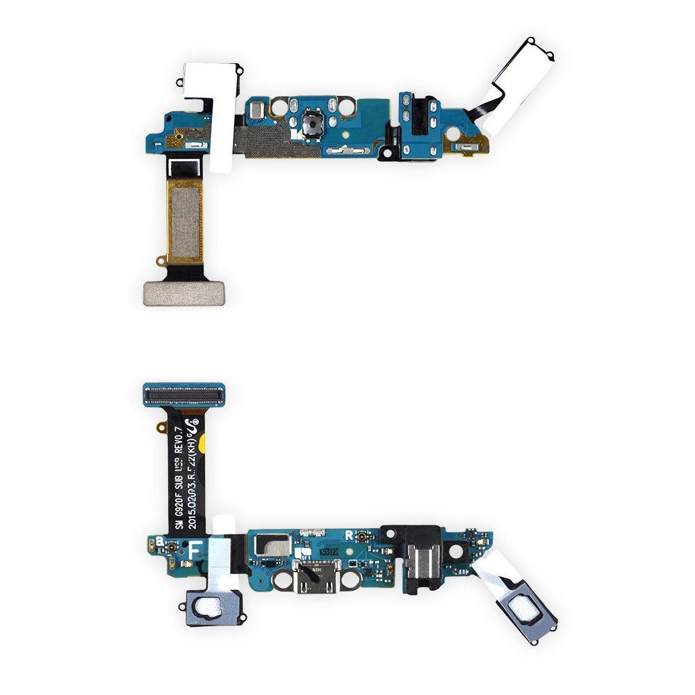 Шлейф с разъемом зарядки для Samsung Galaxy S6 G920F