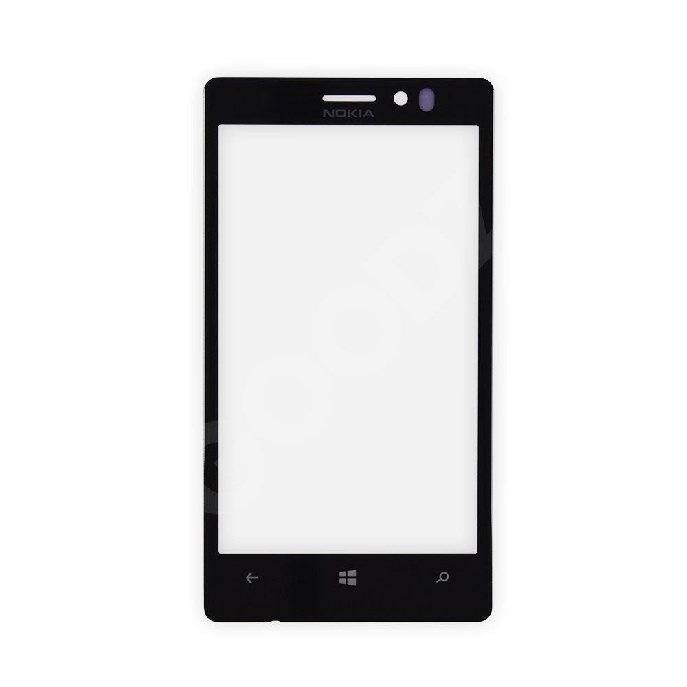 Стекло корпуса для Nokia 925, цвет черный