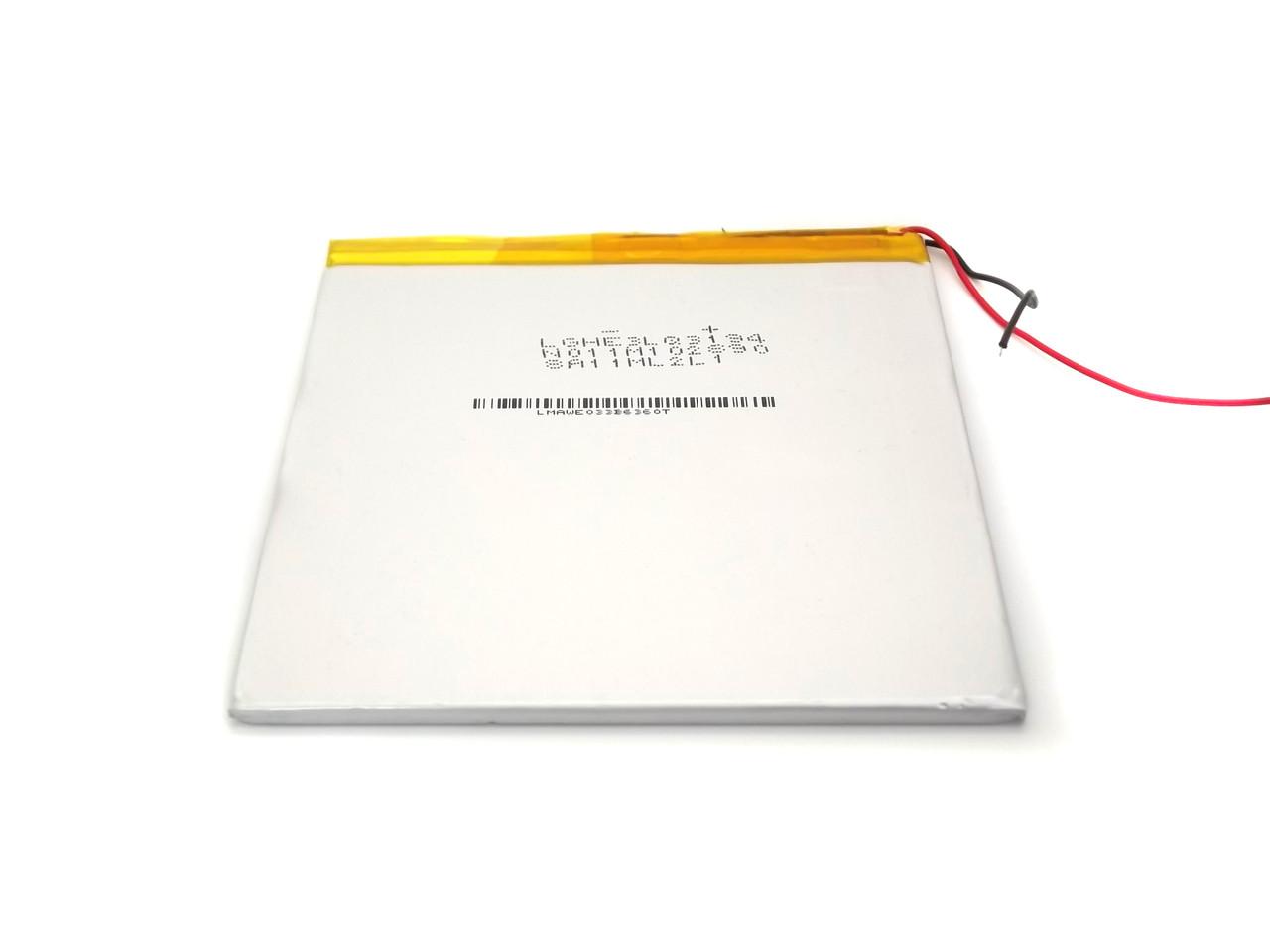Аккумулятор 4500 мАч 3.7В 100*100*35 для планшетов